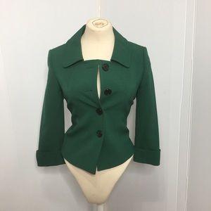 Tahari Green Blazer